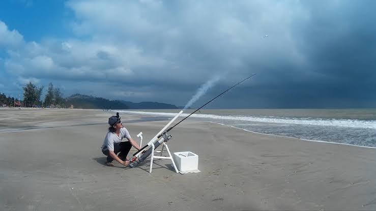 Umpan ikan laut tepi pantai