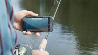 Alat pendeteksi ikan di sungai